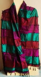 Indiase sjaal zijde