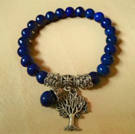 Bracelet Lapis-Lazuli - Arbre de Vie