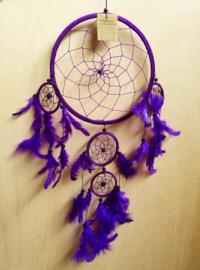Attrape rêves violet