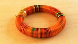 Bracelet indien orange
