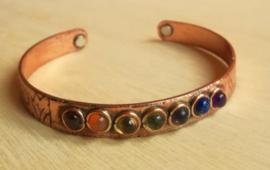 Chakra armband magnetisch