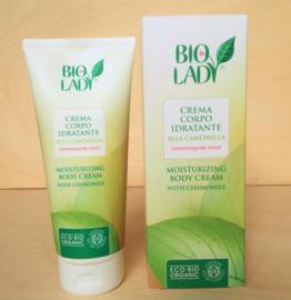 Biologische hydraterende body crème met kamille