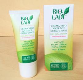 Crème visage bio anti-âge