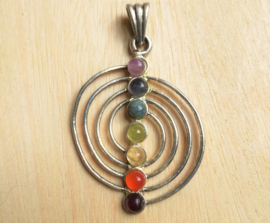 Pendentif Chakra Spiral