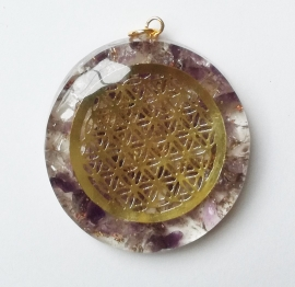 Orgone hanger Flower of Life