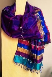 Zijden sjaal indiaas