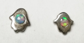 Oorknopjes Opaal