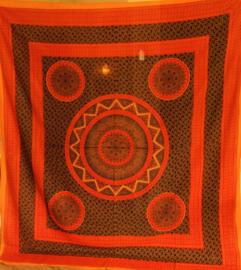 Grand foulard indien