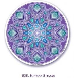 Mandala raamsticker