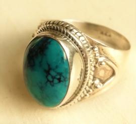 edelsteen ring Turkoois