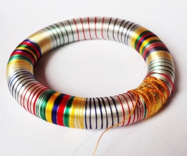 Bracelet indien multicolor