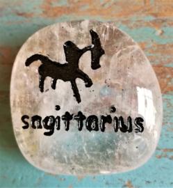 Signe Sagittarius en Cristal de roche