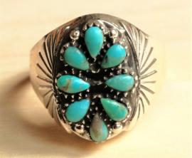 Bague Ameridienne Turquoise
