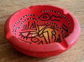 Bol en céramique rouge