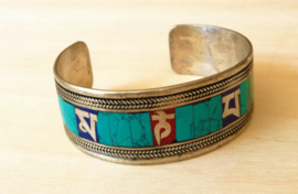 Bracelet mantra tibétain