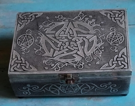 Boîte à bijoux Pentagramme