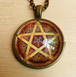 Pendentif Pentagramme