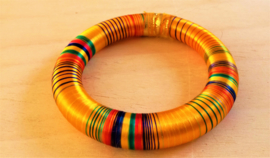 Bracelet indien jaune
