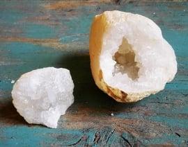 Bergkristal geode