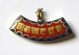 Pendentif Tibétain - Mantra