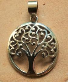 Tree of Life hanger zilver