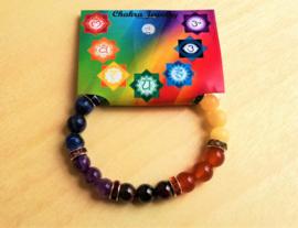 Chakra edelsteen armband