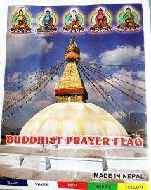 Tibetaans gebedsvlaggen