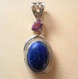 Pendentif Lapis- Lazuli
