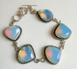 Bracelet Opaline en argent