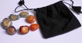 Chakra edelstenen- set