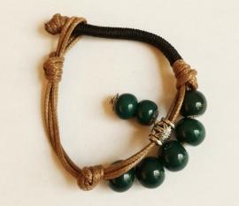 Bracelet tibétaine en céramique