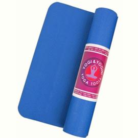 Yogamat Yogi & Yogini blauw
