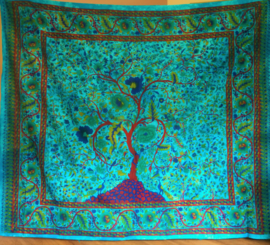 Grand Foulard Tree of Life - horizontaal