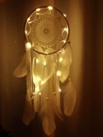 Attrape rêves  avec éclairage LED