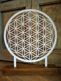 Flower of Life  staande decoratie