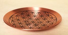 Coupe Fleur de vie en cuivre