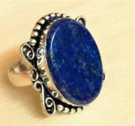 Bague en Lapis-Lazuli en Argent