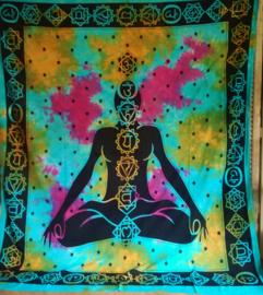 Grand Foulard Chakra Bouddha