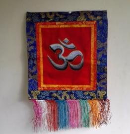 Bannière tibétaine Ohm