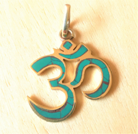 Pendentif Ohm turquoise