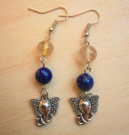 Boucles d'oreilles Ganesha