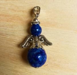 Pendentif ange gardien en lapis-lazuli
