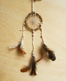 Dreamcatcher chanvre naturel - mini