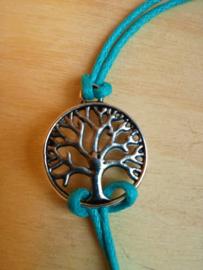 Bracelet Arbre de vie - turquoise