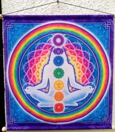Tapisserie de méditation Chakra
