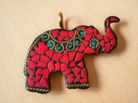 Pendentif Tibetétain éléphant