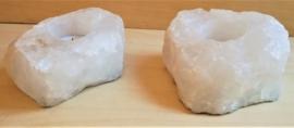 Porte bougie Cristal de roche