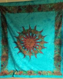 Indiase Grand Foulard Zon