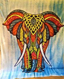 Grand Foulard éléphant