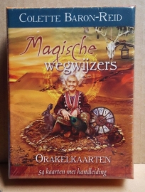 Magische wegwijzers orakelkaarten.